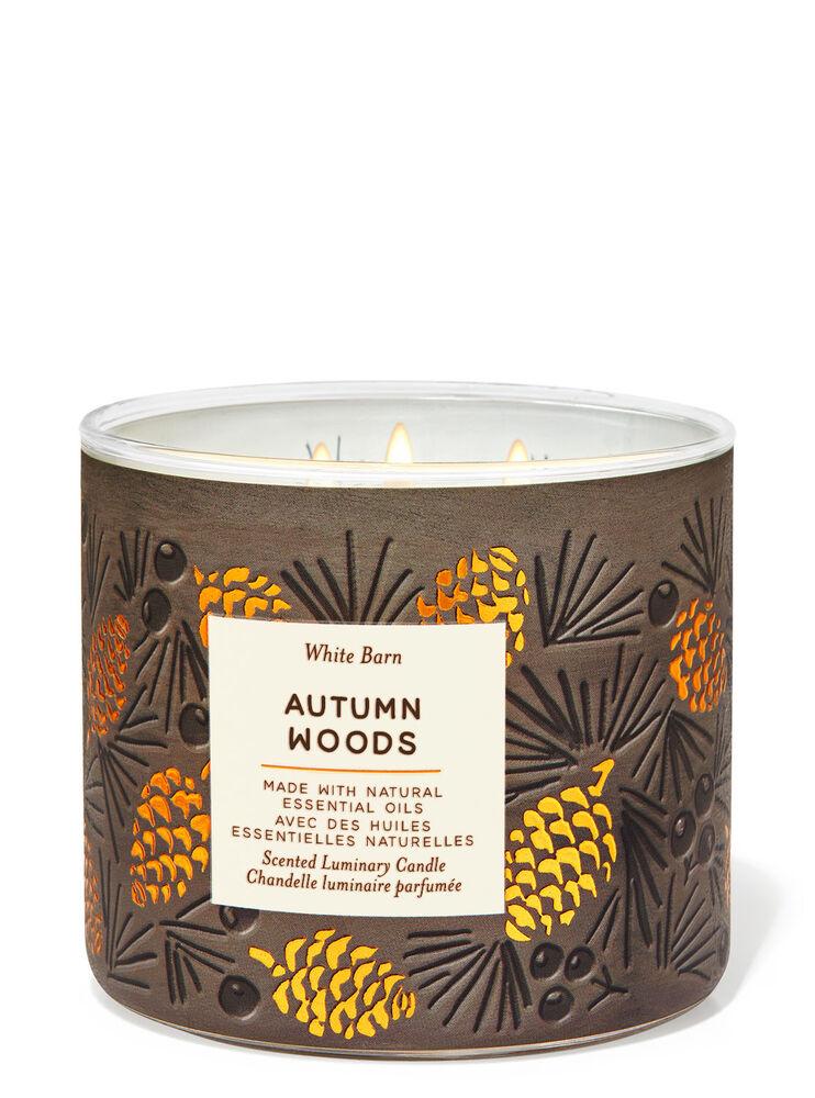 Chandelle à 3 mèches Autumn Woods Image 2
