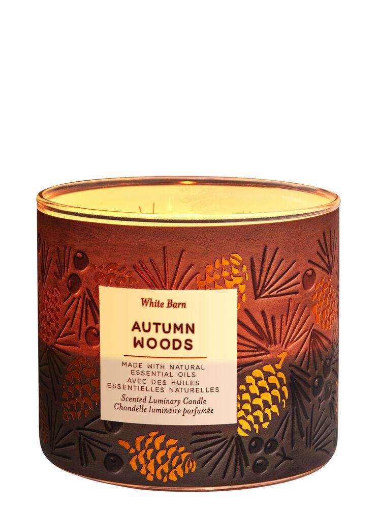 Chandelle à 3 mèches Autumn Woods Image 1