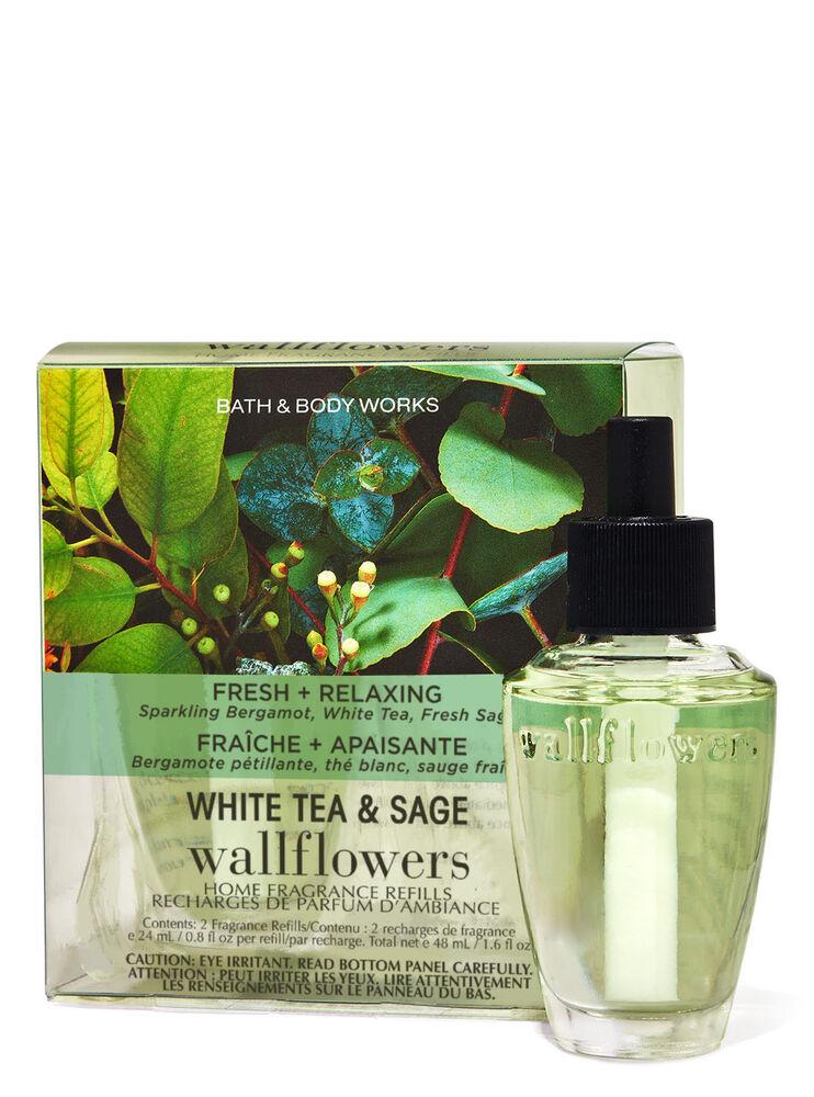 White Tea & Sage Wallflowers Refills 2-Pack
