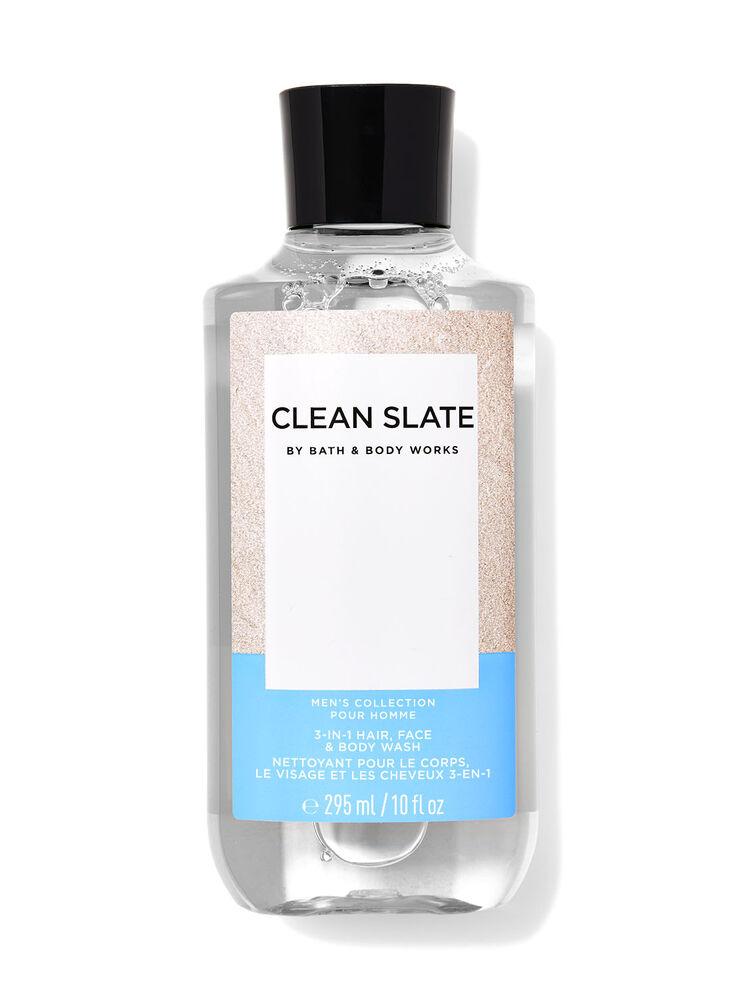 Nettoyant pour le corps, le visage et les cheveux 3-en-1 Clean Slate