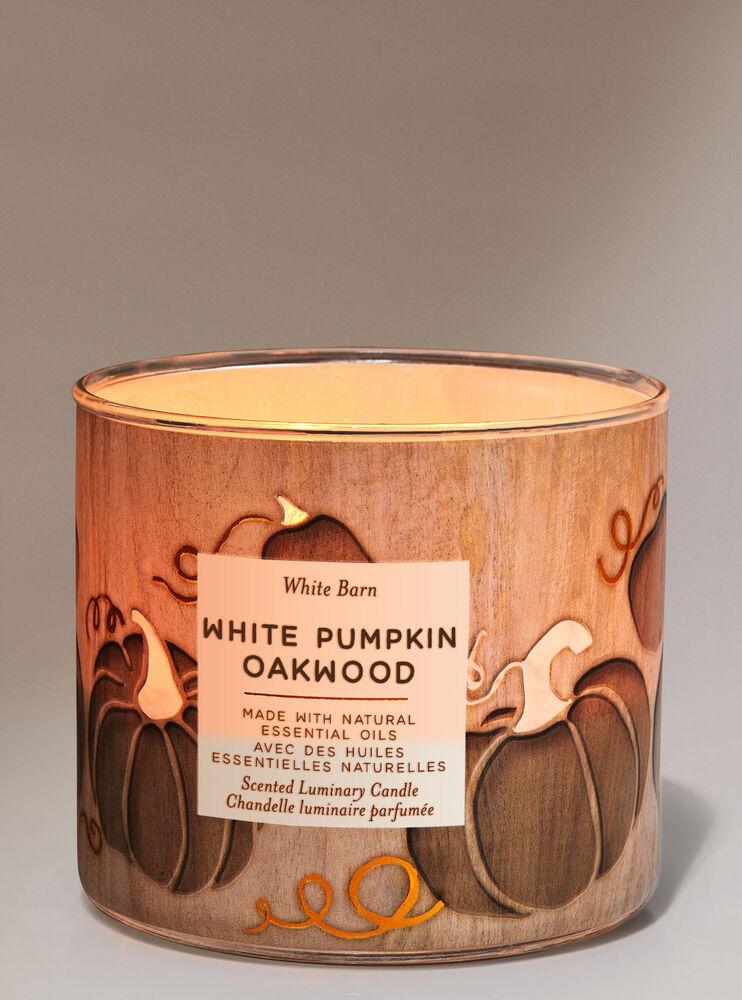 Chandelle à 3mèches White Pumpkin Oakwood Image 2