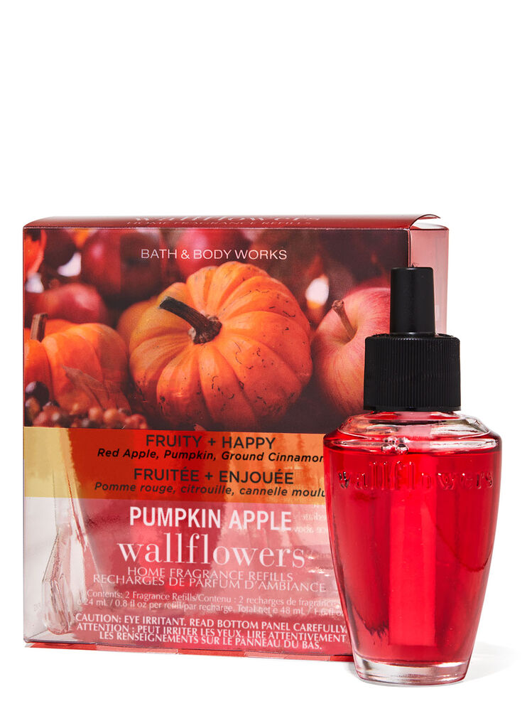 Paquet de 2 recharges de fragrance Wallflowers Pumpkin Apple