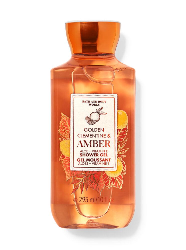 Gel moussant Golden Clementine & Amber
