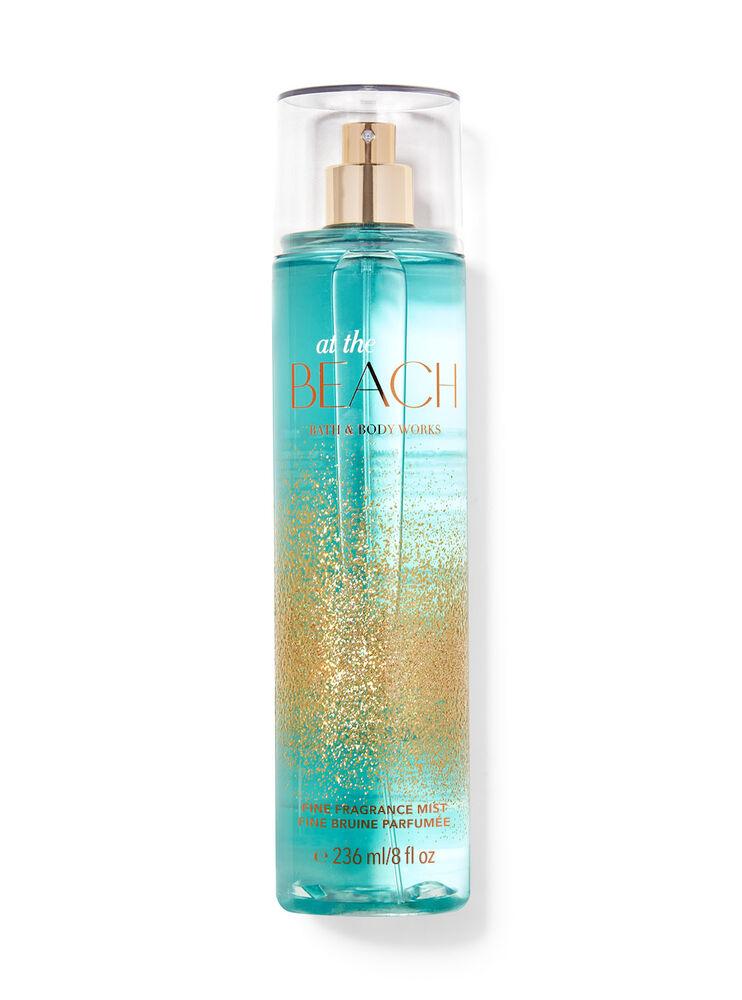 Fine bruine parfumée At the Beach