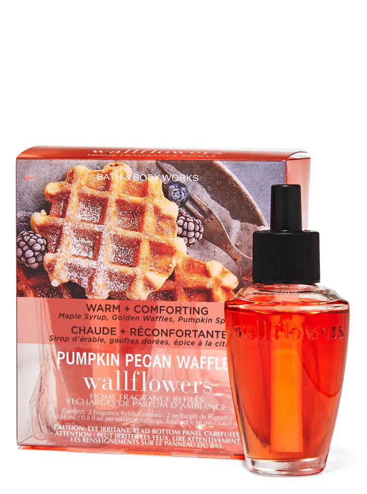 Paquet de 2 recharges de fragrance Wallflowers Pumpkin Pecan Waffles