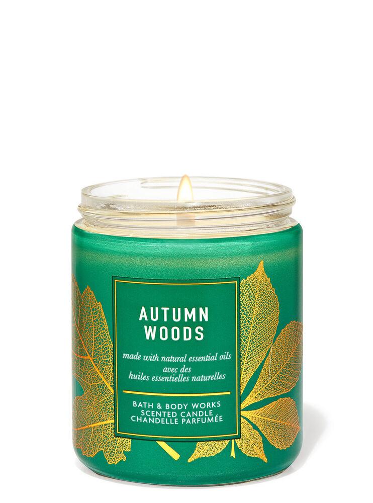 Chandelle à une mèche Autumn Woods