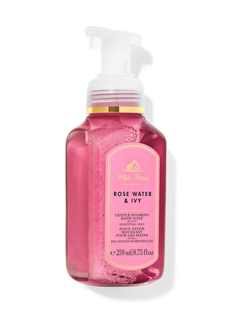 Doux savon moussant pour les mains Rose Water & Ivy