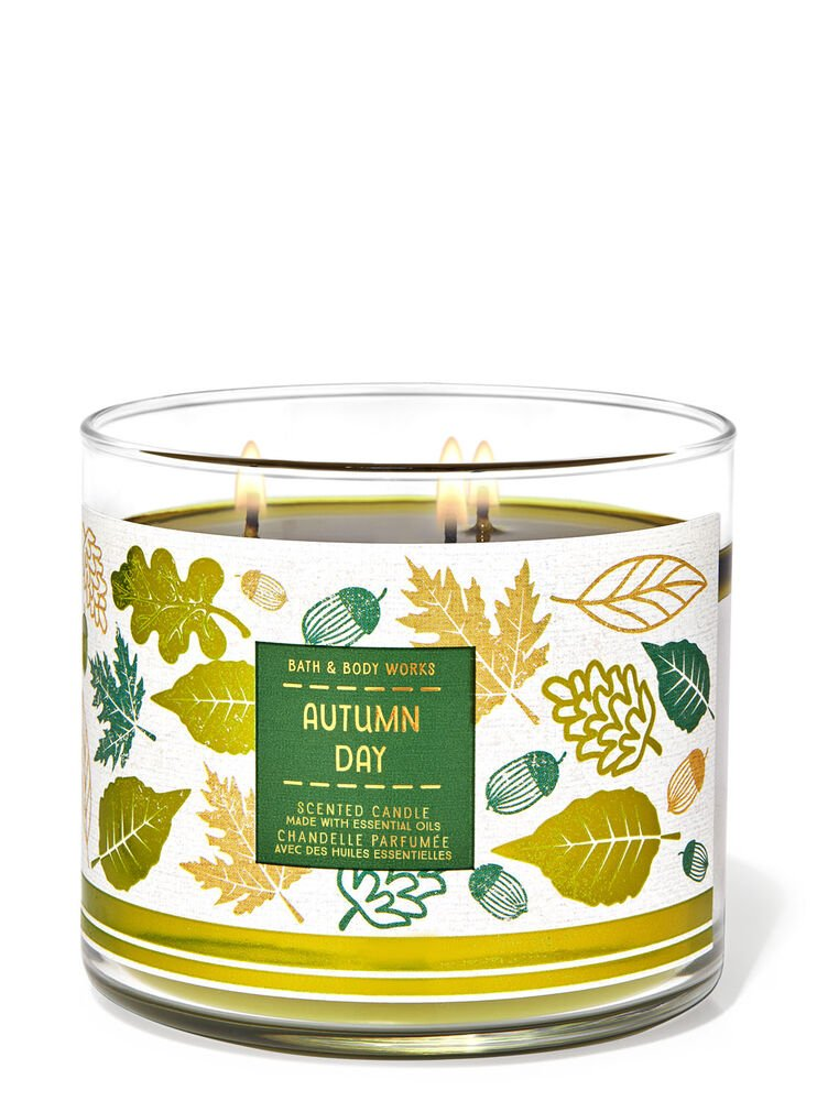 Autumn Day 3-Wick Candle