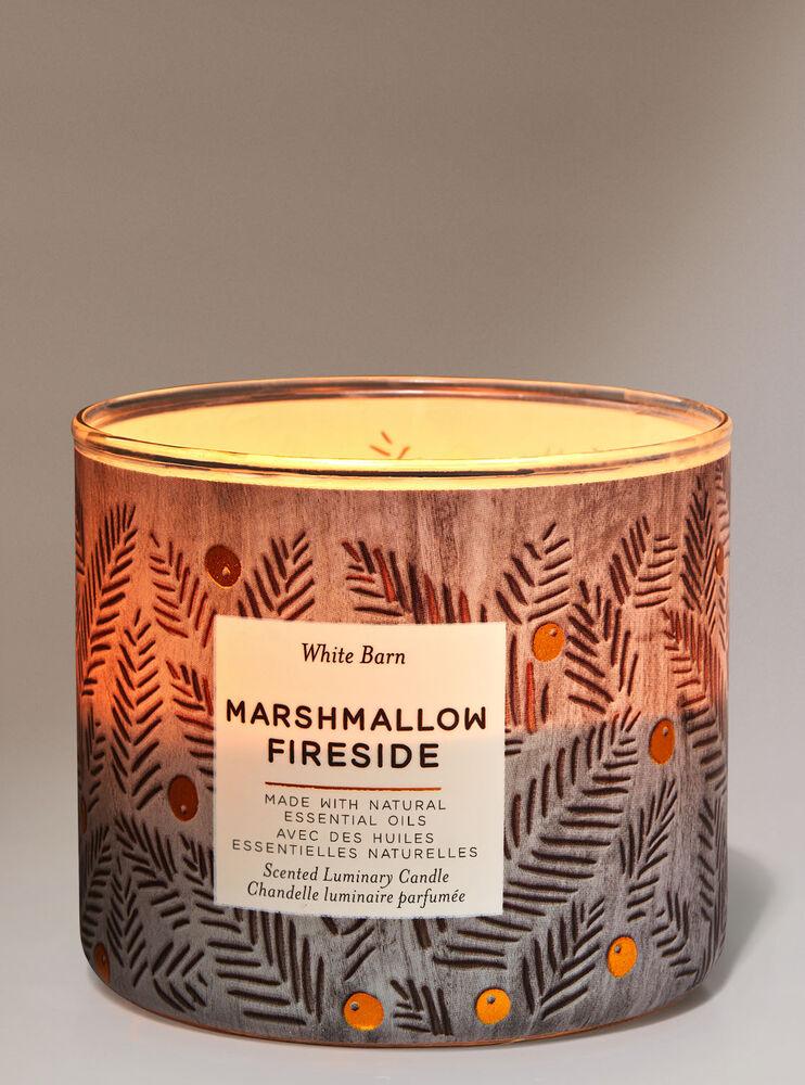Chandelle à 3mèches Marshmallow Fireside Image 2