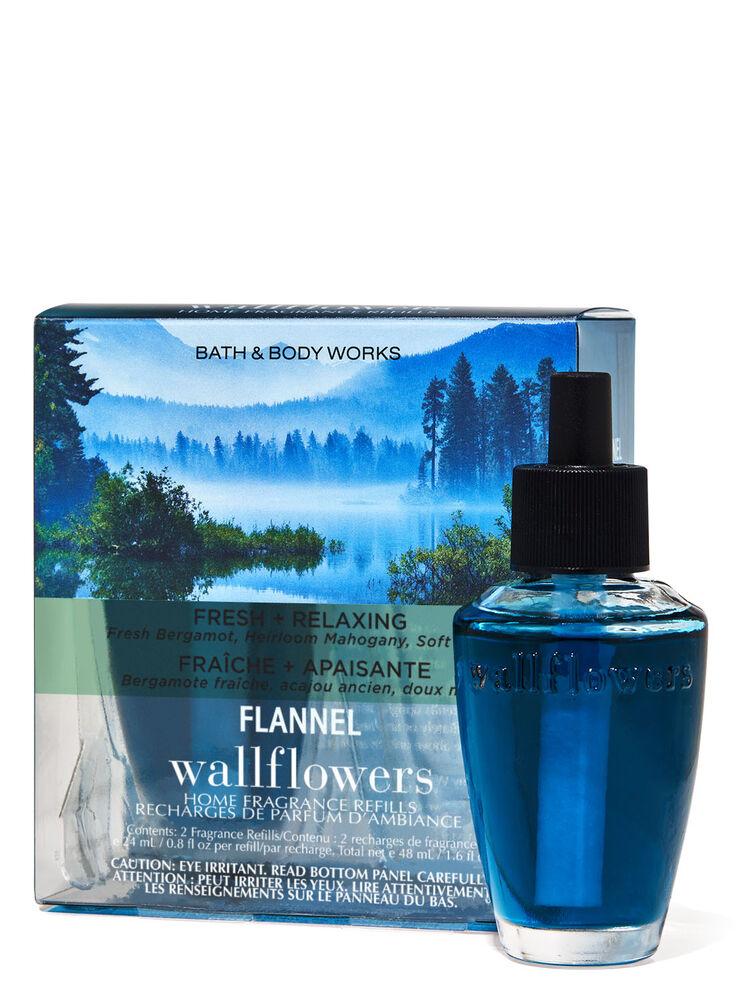 Paquet de 2 recharges de fragrance Wallflowers Flannel