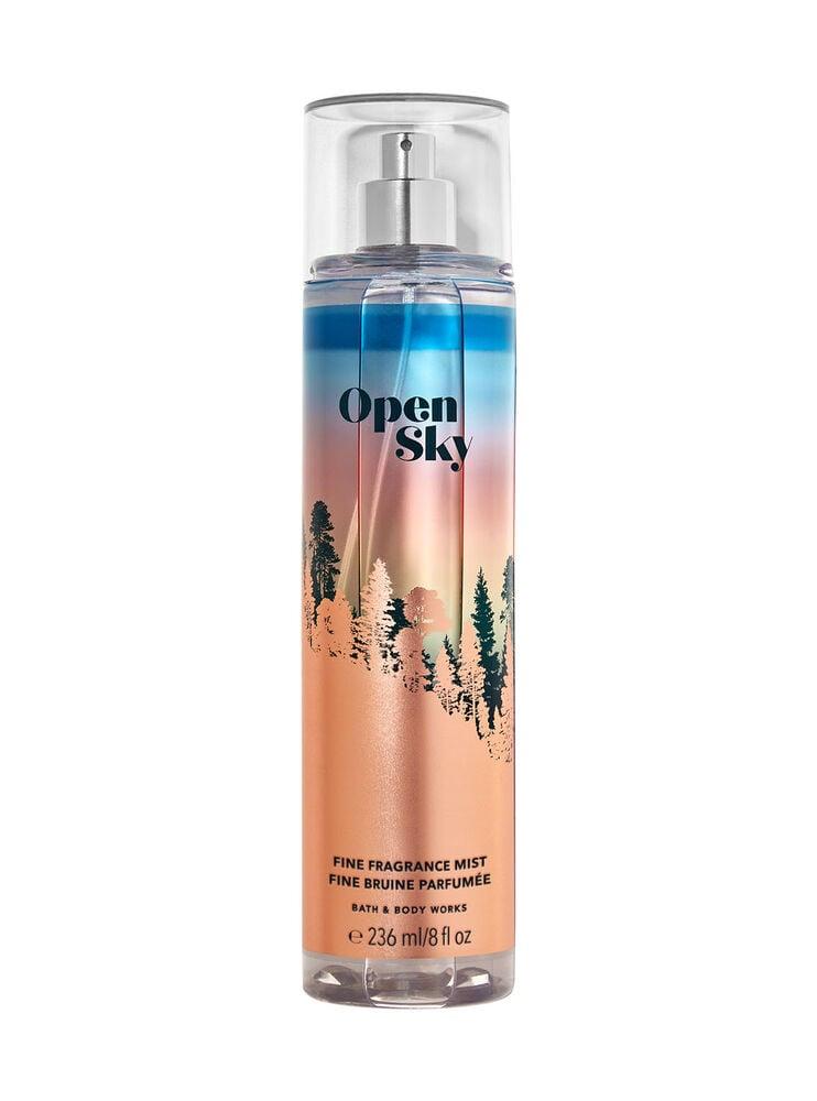 Fine bruine parfumée Open Sky