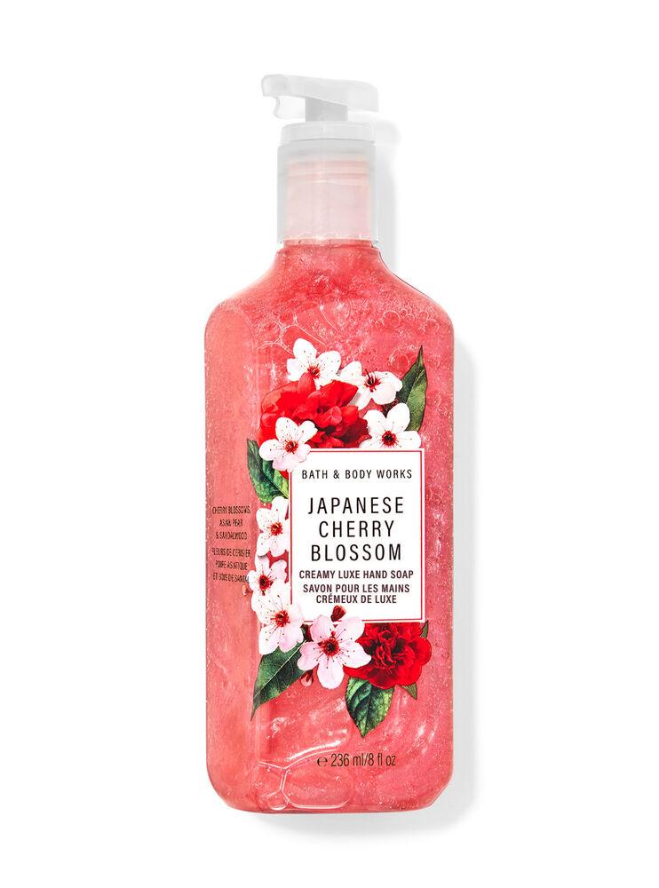 Savon pour les mains crémeux de luxe Japanese Cherry Blossom