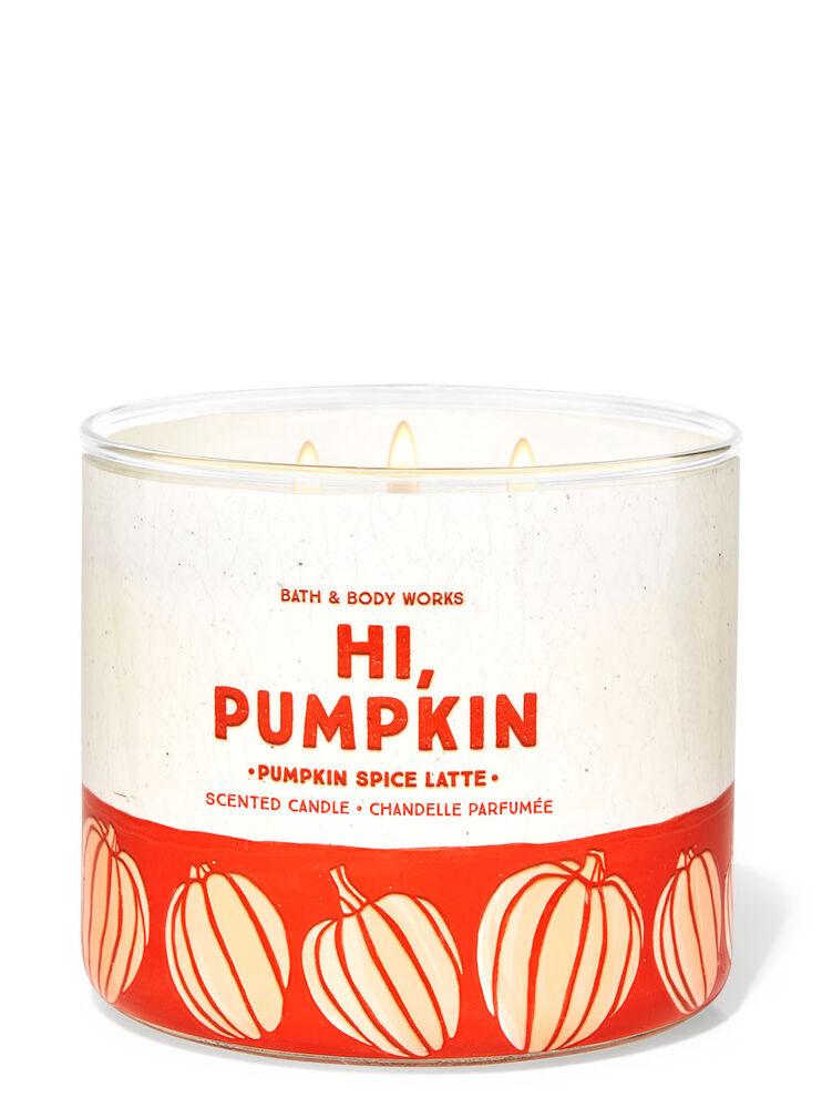 Chandelle à 3mèches Pumpkin Spice Latte