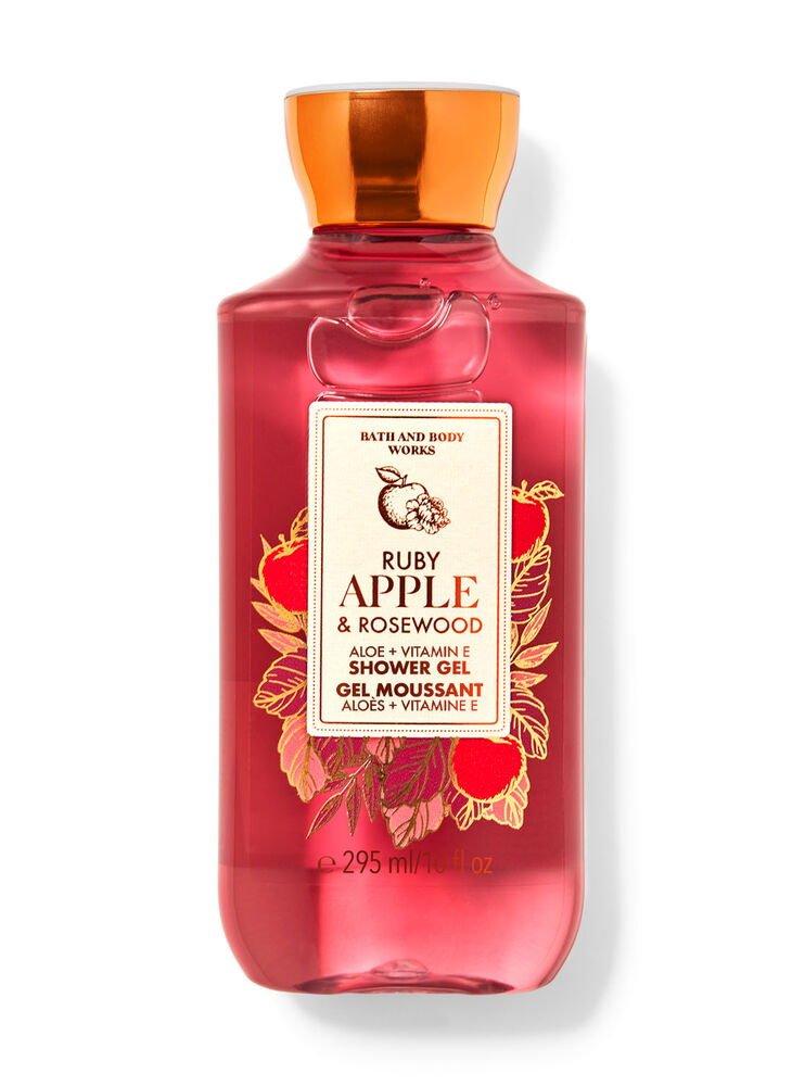 Gel moussant Ruby Apple & Rosewood