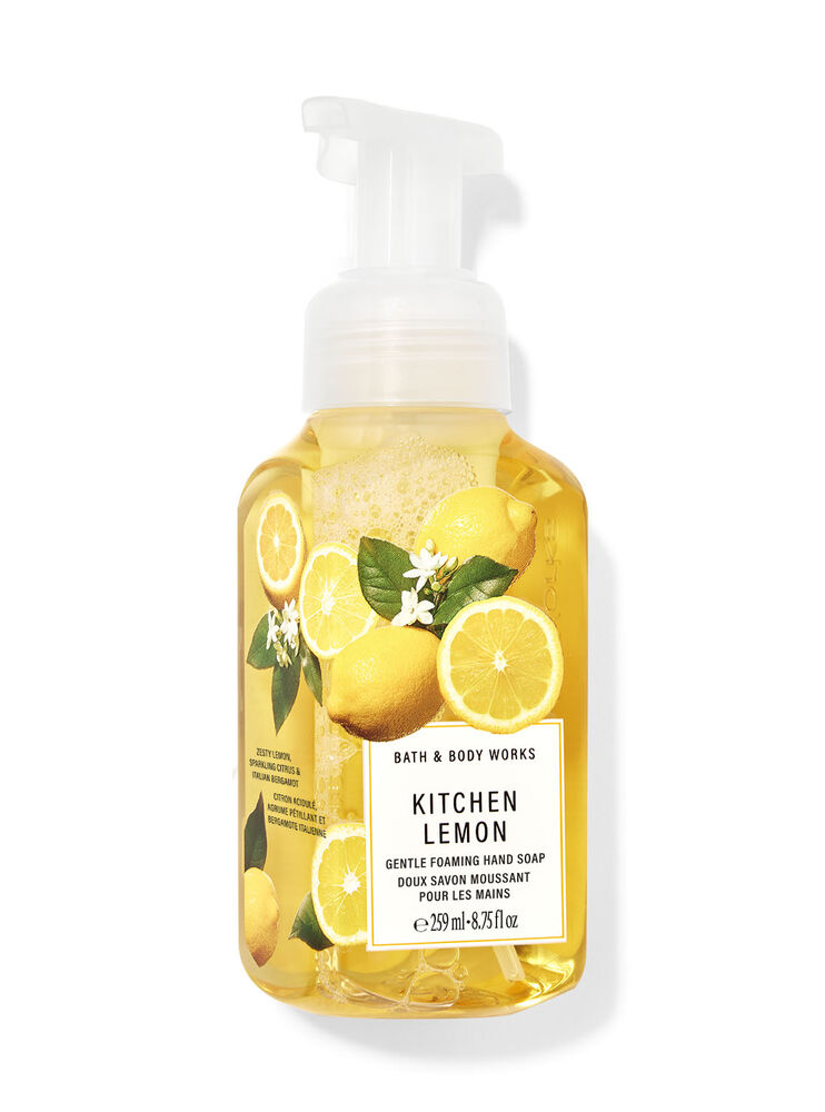 Kitchen Lemon Gentle Foaming Hand Soap
