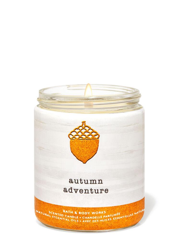 Chandelle à une mèche Autumn Adventure
