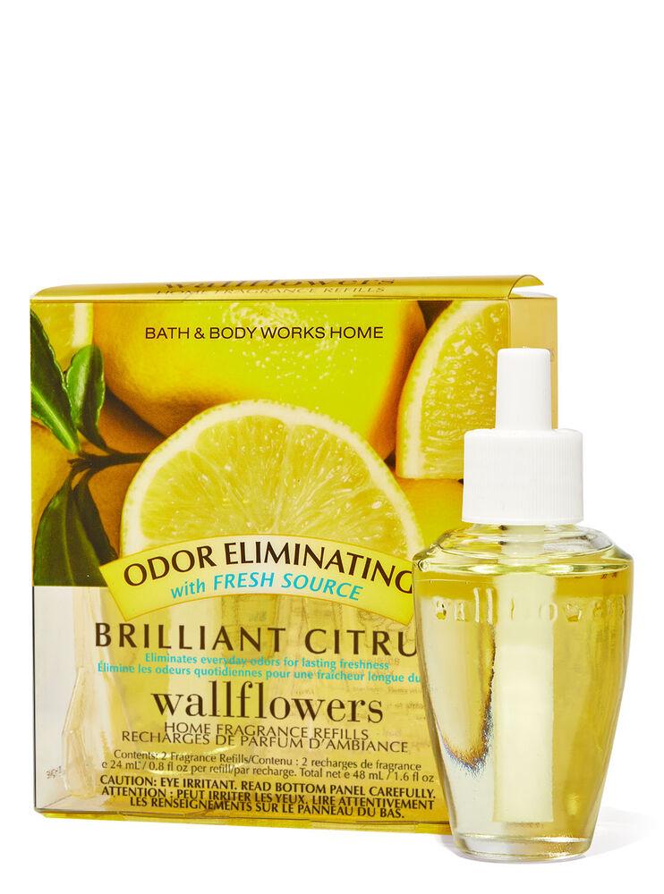 Brilliant Citrus Wallflowers Refills 2-Pack