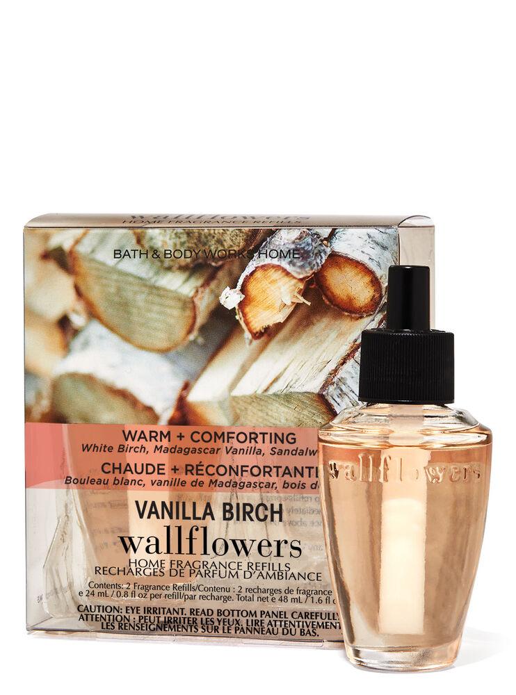 Paquet de 2 recharges de fragrance Wallflowers Vanilla Birch