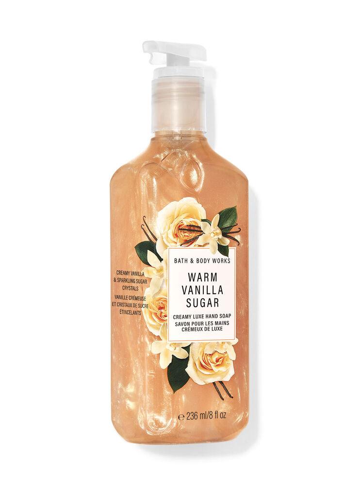 Savon pour les mains crémeux de luxe Warm Vanilla Sugar