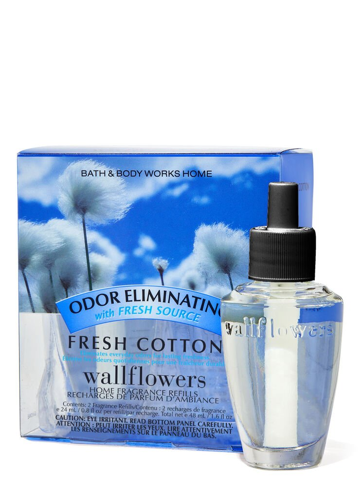 Fresh Cotton Wallflowers Refills 2-Pack