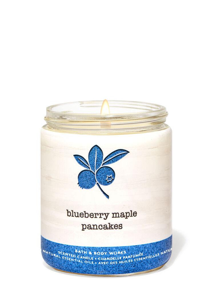 Chandelle à une mèche Blueberry Maple Pancakes