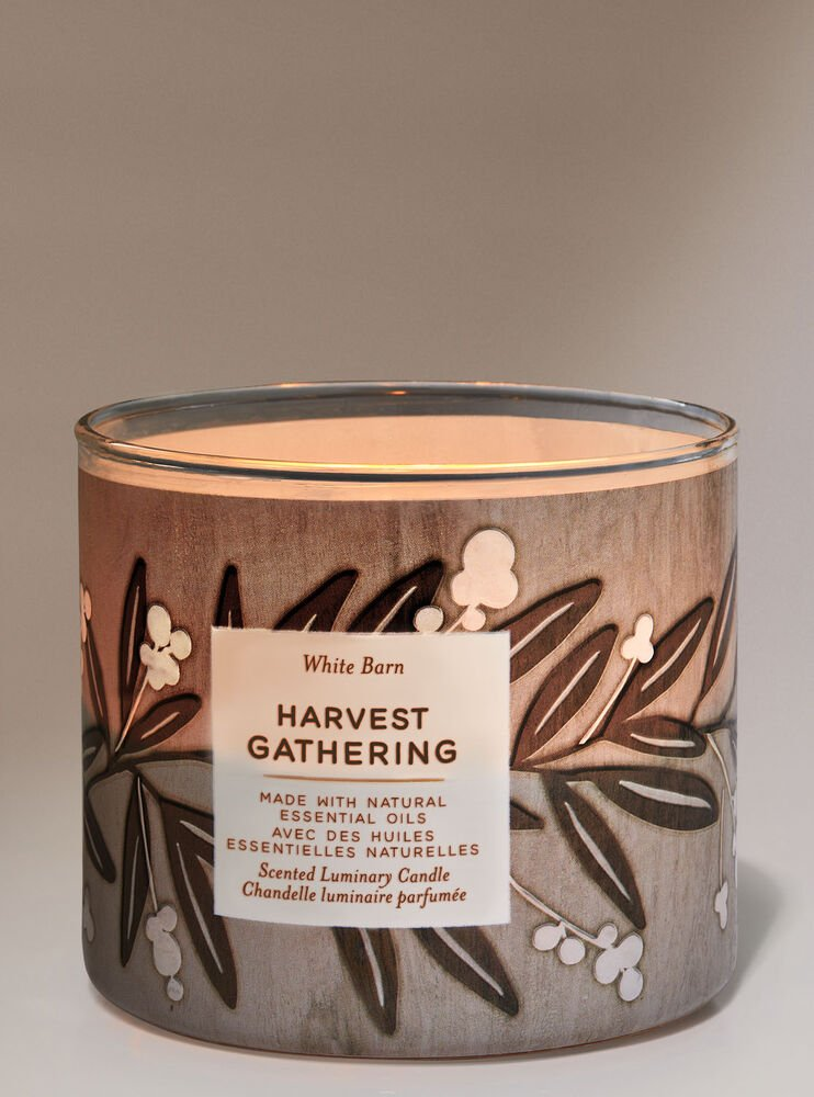 Harvest Gathering 3-Wick Candle Image 2