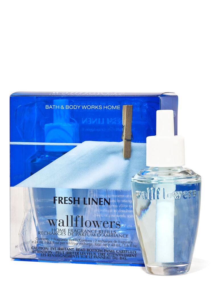 Paquet de 2 recharges de fragrance Wallflowers Fresh Linen