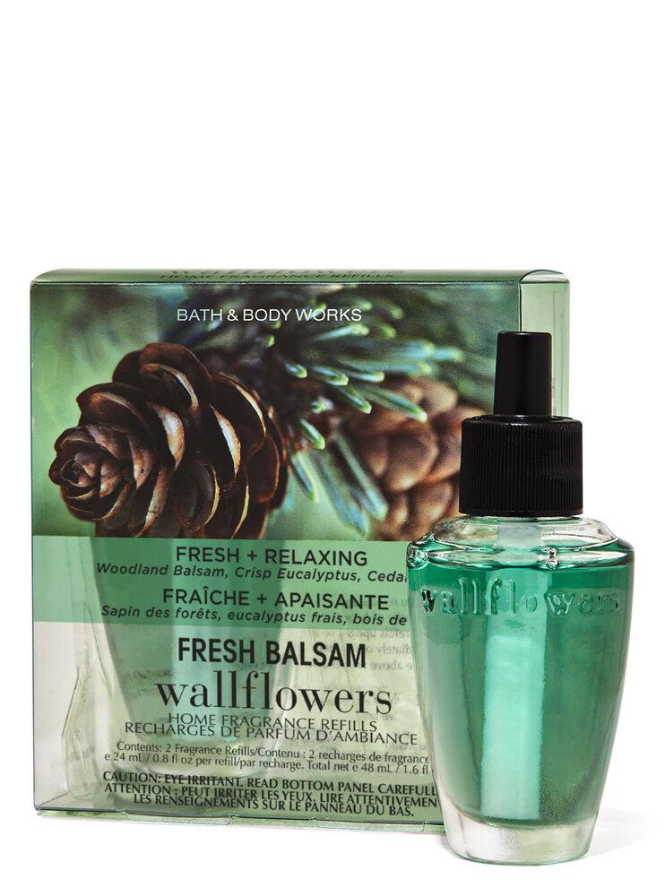 Paquet de 2 recharges de fragrance Wallflowers Fresh Balsam