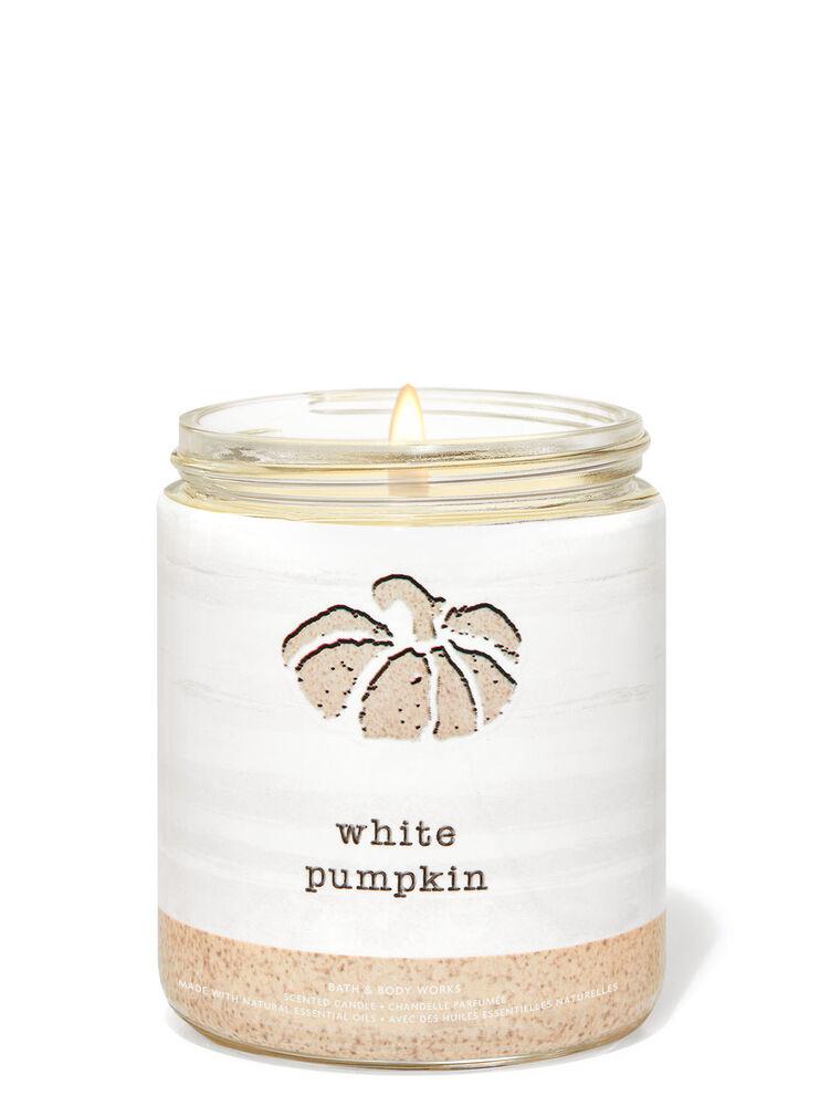Chandelle à une mèche White Pumpkin