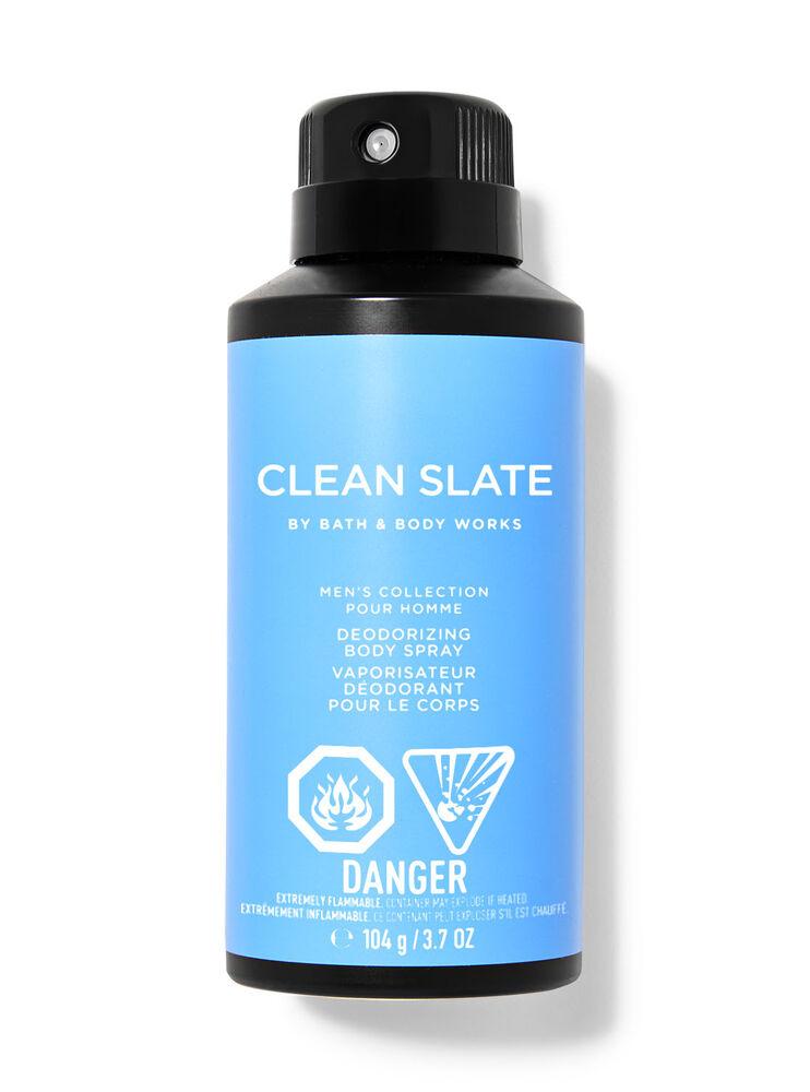 Vaporisateur déodorant pour le corps Clean Slate