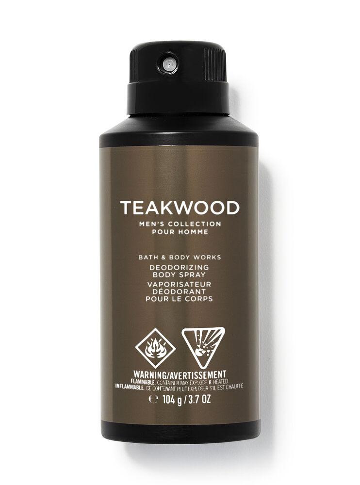 Vaporisateur déodorant pour le corps Teakwood