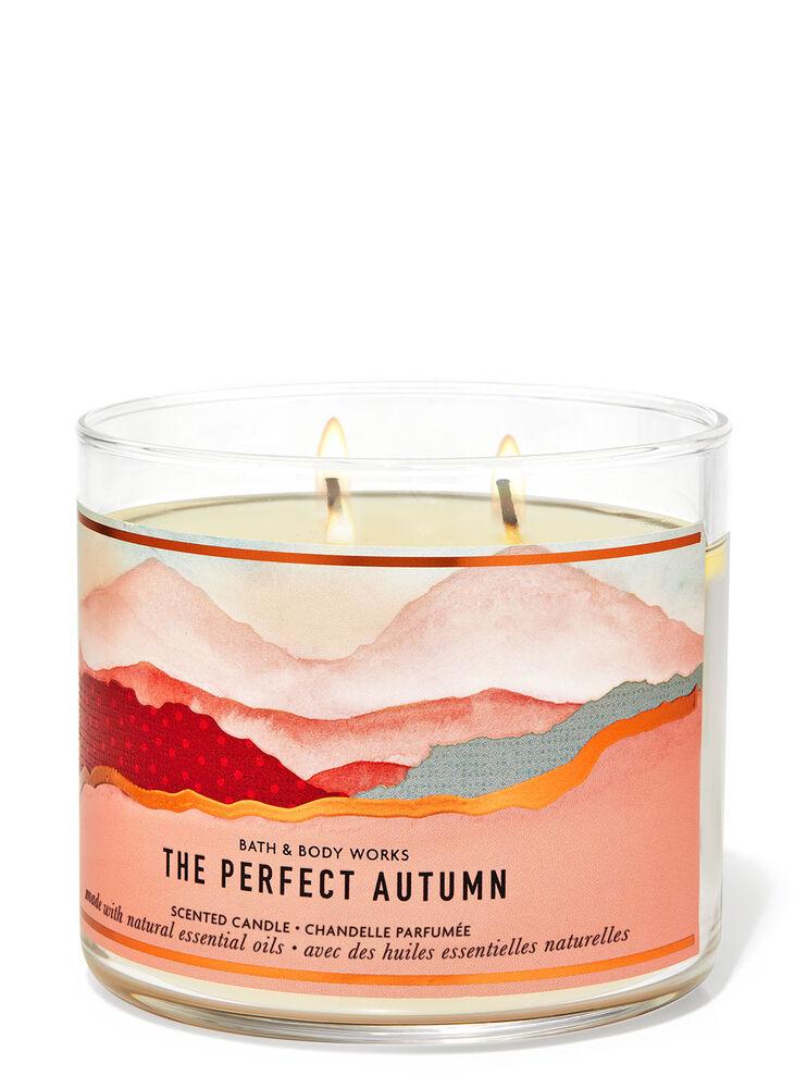 Chandelle à 3mèches The Perfect Autumn