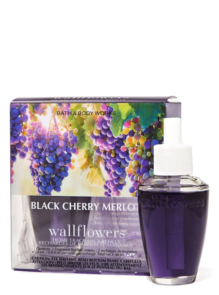 Paquet de 2 recharges de fragrance Wallflowers Black Cherry Merlot