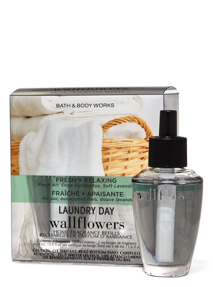 Paquet de 2 recharges de fragrance Wallflowers Laundry Day