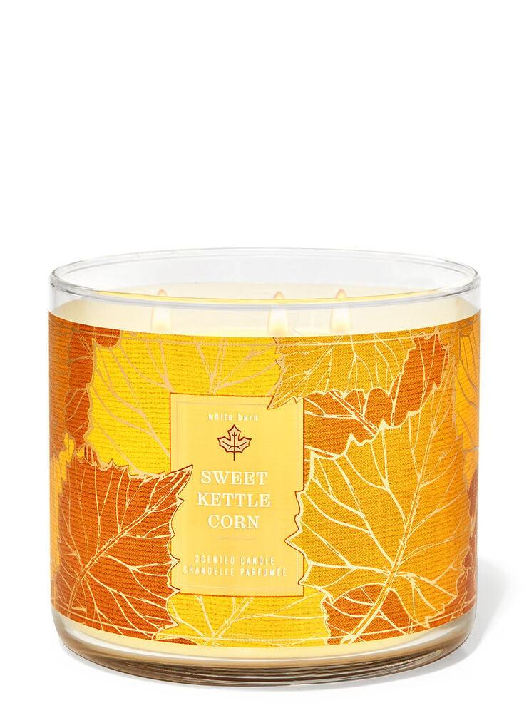 Sweet Kettle Corn 3-Wick Candle