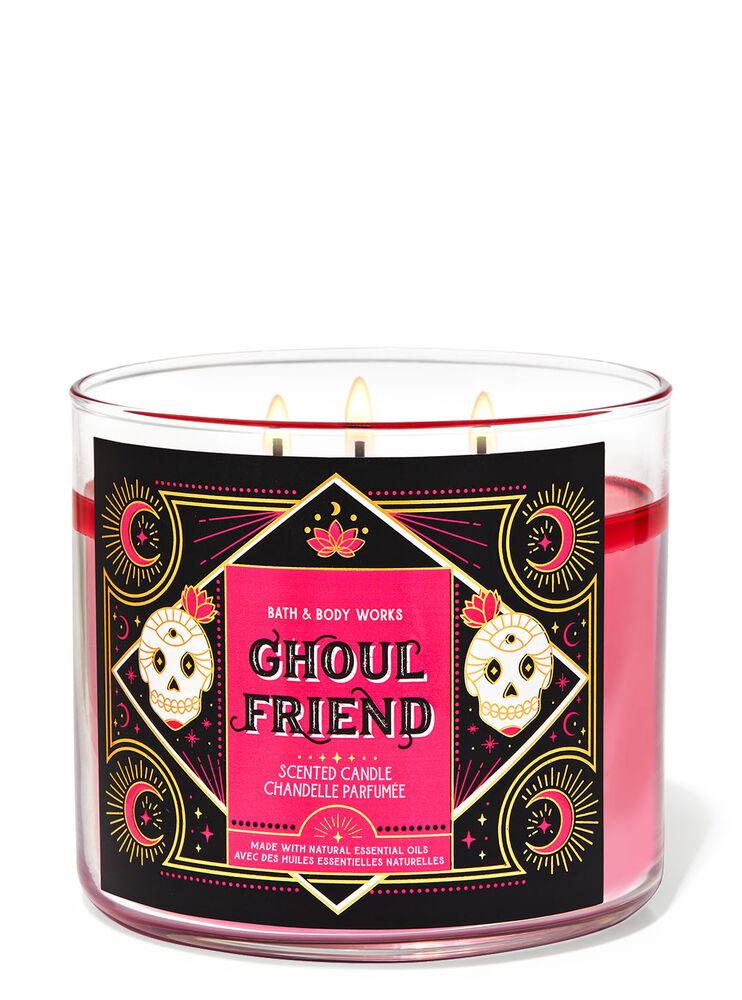 Chandelle à 3mèches Ghoul Friend