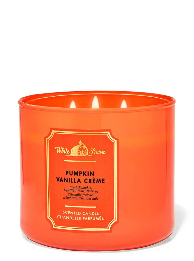 Chandelle à 3mèches Pumpkin Vanilla Creme