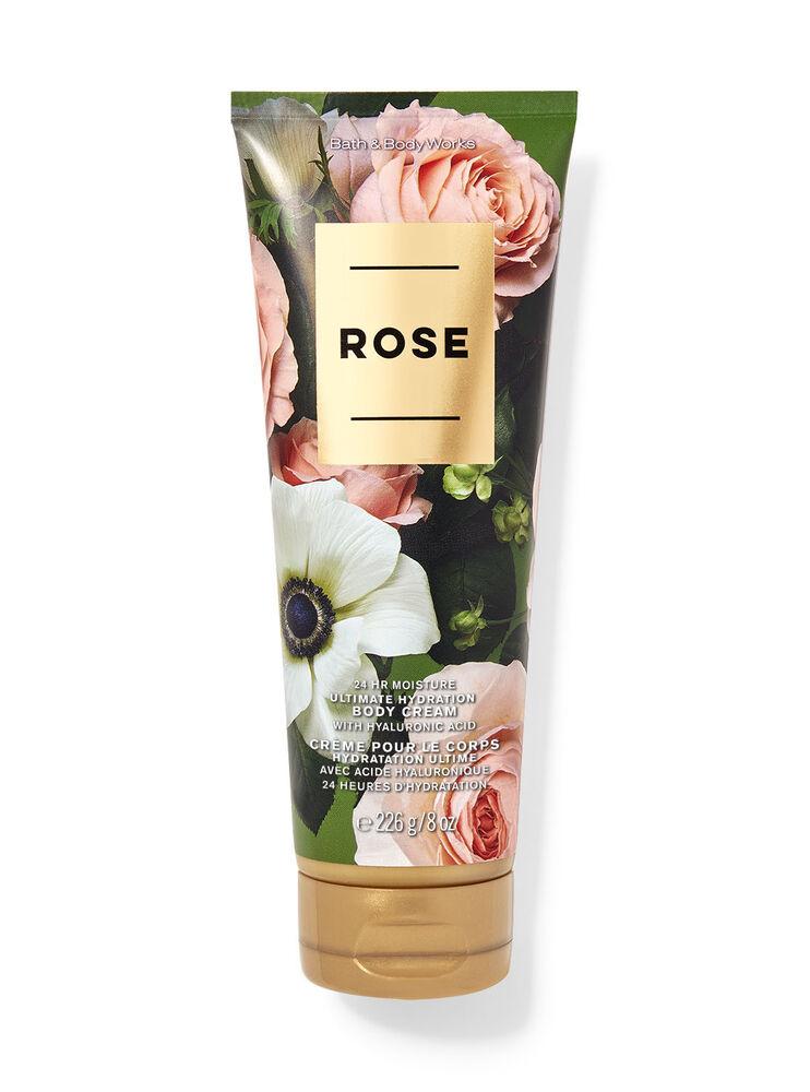 Crème pour le corps hydratation ultime Rose