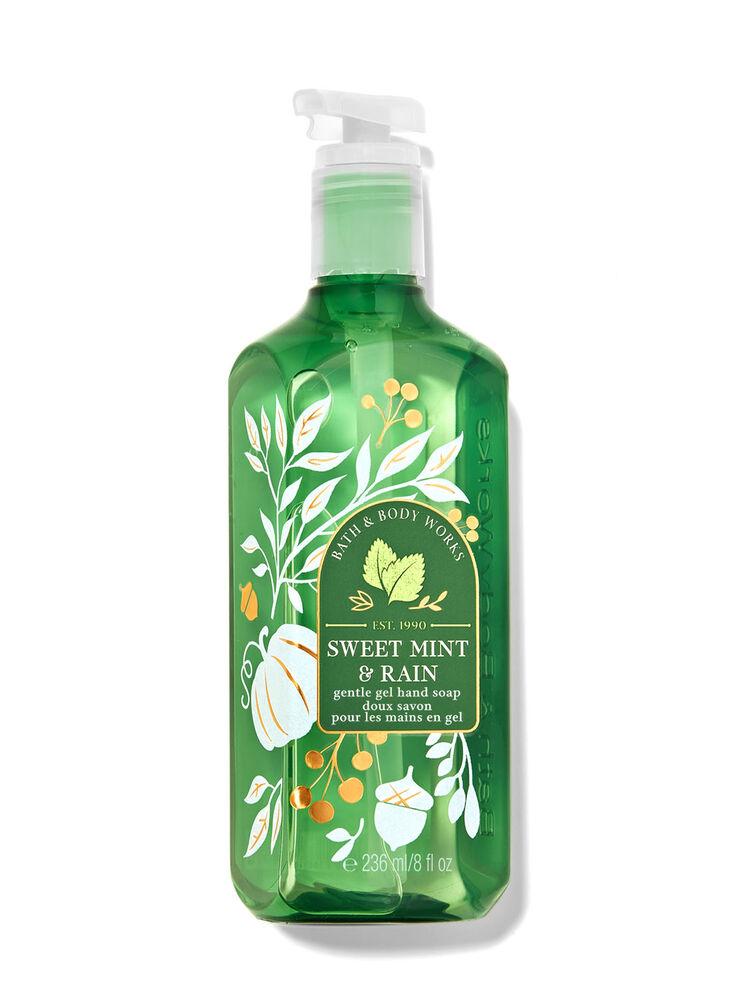 Doux savon pour les mains en gel Sweet Mint & Rain