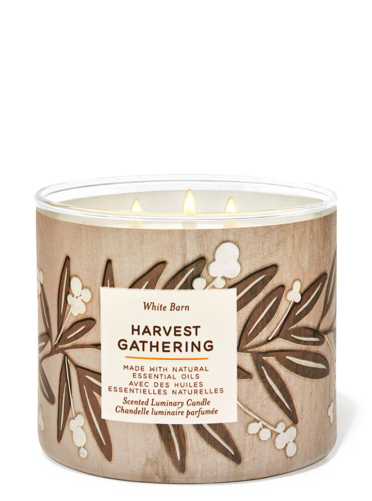 Harvest Gathering 3-Wick Candle Image 1