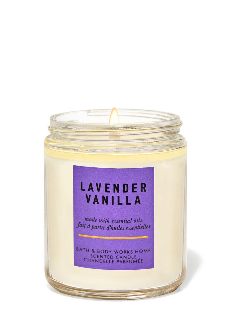 Chandelle à une mèche Lavender Vanilla