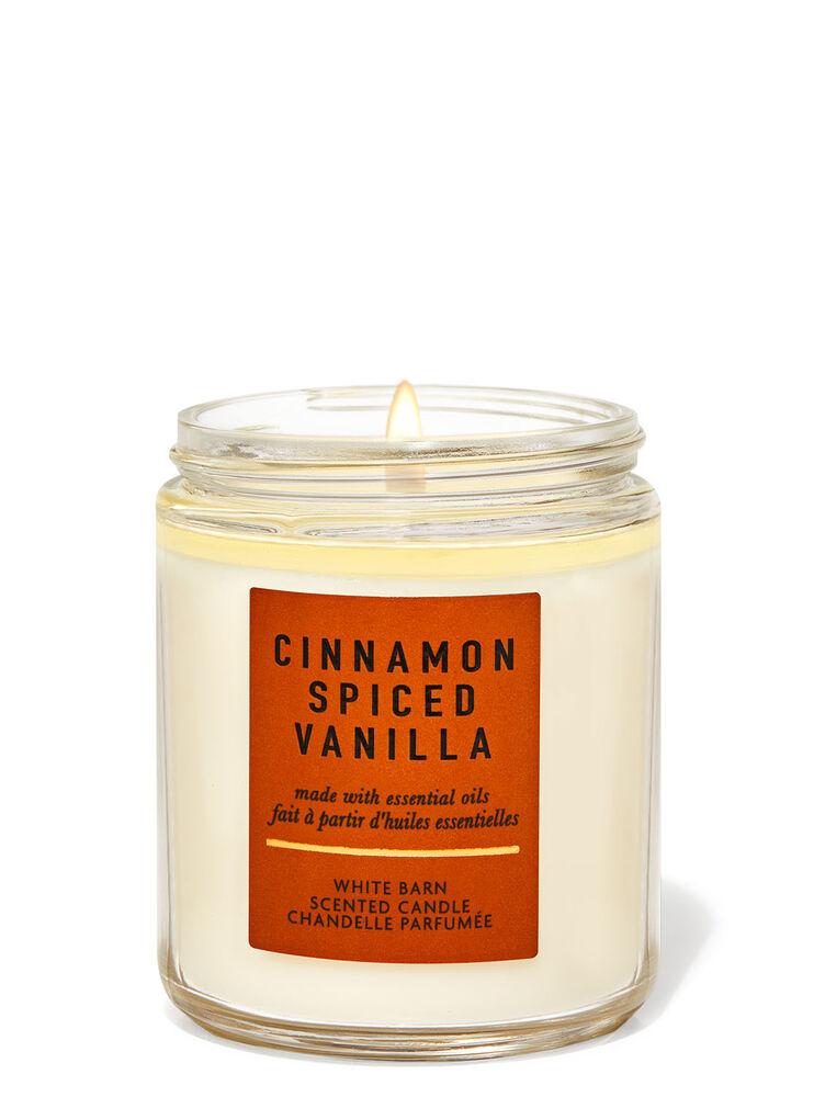 Chandelle à une mèche Cinnamon Spiced Vanilla
