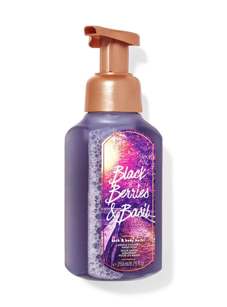 Doux savon moussant pour les mains Blackberries & Basil