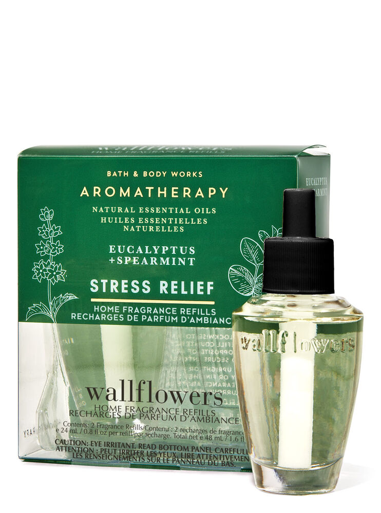Eucalyptus Spearmint Wallflowers Refills, 2-Pack