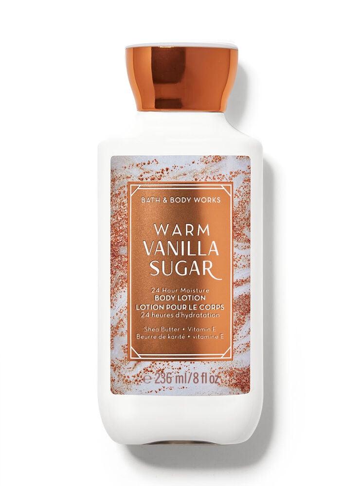 Lotion pour le corps super apaisante Warm Vanilla Sugar