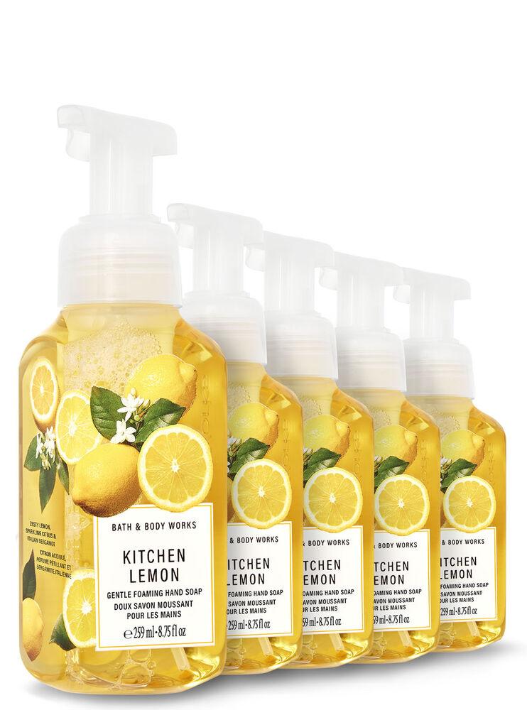 Doux savon moussant pour les mains Kitchen Lemon