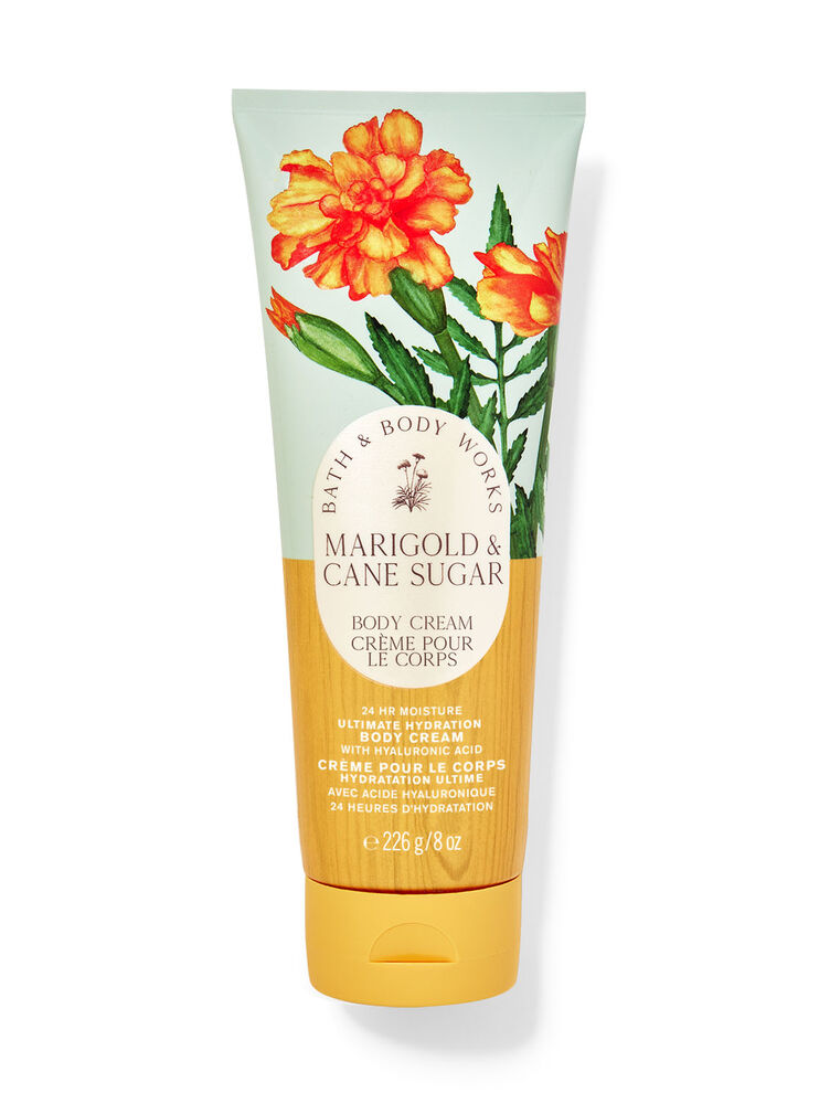 Crème pour le corps hydratation ultime Marigold & Cane Sugar